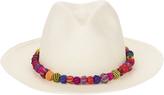 Valdez Panama Ayampe Pom-Pom Trim Hat