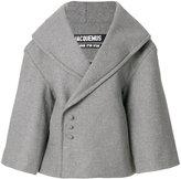Jacquemus La Caban coat - women - Polyamide/Polyurethane/Cashmere/Virgin Wool - 34