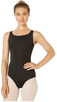 Bloch Tank Leotard (Black) Women's Jumpsuit & Rompers One Piece