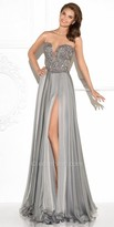 Tarik Ediz Strong Evening Dress