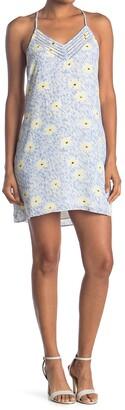 Socialite Racerback V-Neck Mini Dress