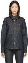 S.R. Studio. La. Ca. S.R. STUDIO. LA. CA. Indigo Unlimited Denim Oversized Button-Down Shirt