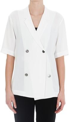 Alberto Biani Double Breasted Short Sleeve Blazer