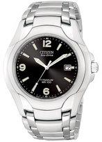 Citizen Men's Eco-Drive Stainless Steel Bracelet Watch 40mm BM6060-57F
