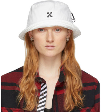 Off-White Off White White Arrows Bucket Hat