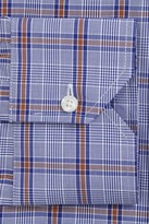 John W. Nordstrom Classic Fit Plaid Dress Shirt