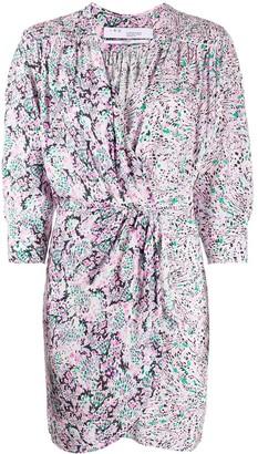 IRO Firenze printed mini dress