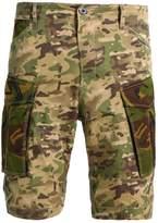 Gstar Rovic Mix Shorts Khaki/army Green