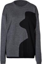 Mary Katrantzou Wool Oversize Pullover in Multi