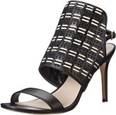 Cole Haan Arista Sandal Women US 6 Black Open Toe Slingback Sandal