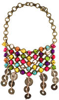 Dannijo Skull Bib Necklace