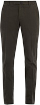 Incotex Mid-rise slim-leg stretch-cotton trousers