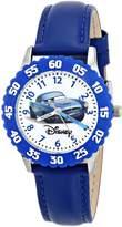 Disney Kids' W000086 Cars Stainless Steel Time Teacher Watch