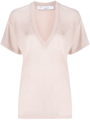 IRO deep V-neck T-shirt