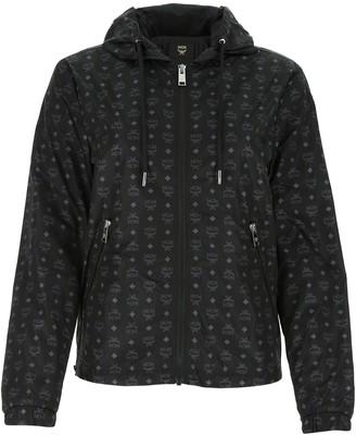 MCM Printed Zipped Jacket