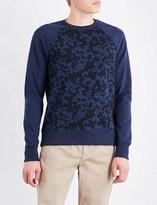 Michael Kors Camouflage-print cotton-jersey sweatshirt