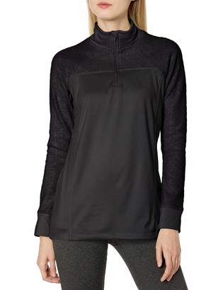 Jockey Women's Burnout Microfleece Half Zip Top