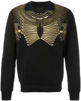 Les Hommes gold-tone geometric print sweatshirt - men - Cotton - S