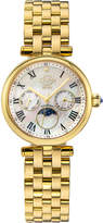 Gv2 Florence Moon Phase Diamond Swiss Watch, Gold/White