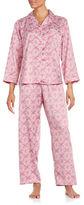 Miss Elaine Printed Pajama Set