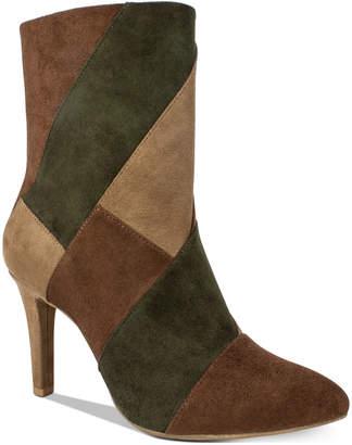 Rialto Casilda Mixed-Texture Boots Women Shoes