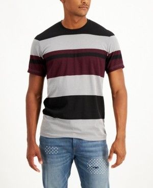 Sun + Stone Men's Japan Block Striped Shirt, Created for Macy's