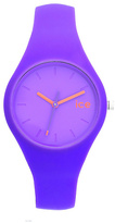 Ice Chamallow Ladies' Purple Silicone Strap Watch