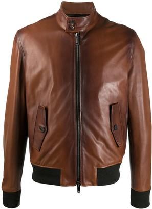 Tagliatore Ethan zip front jacket