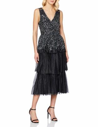 Frock and Frill Women's Kandice Embellished midi Dress Formal Night