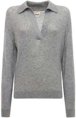 KHAITE Jo Cashmere Knit Sweater