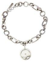 Montblanc Diamond Logo Charm Bracelet