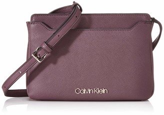 Calvin Klein Women's Worked Ew Xbody Cross-Body Bag Black (Black) 4x12x24 cm (W x H x L)