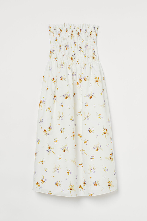 Thumbnail for your product : H&M Smocked bandeau dress