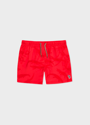 Paul Smith 8+ Years Red Swim Shorts