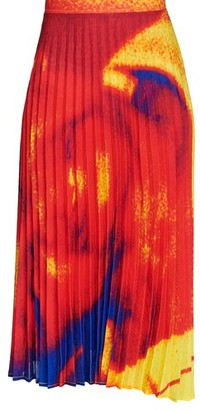 Thebe Magugu Matiego pleated skirt