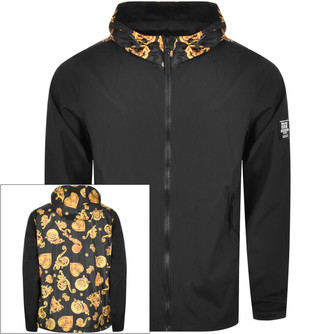 Versace Hooded Jacket Black