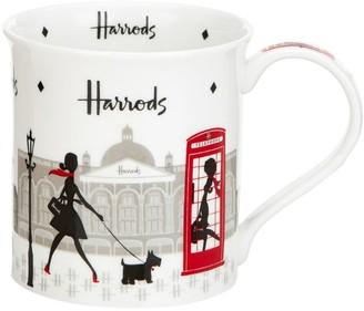 Harrods London Lady Mug