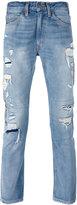 Levi's distressed jeans - men - Cotton - 33