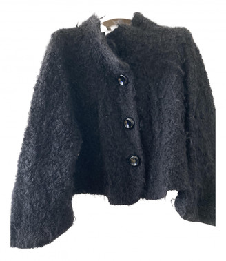Armani Collezioni Black Wool Jackets