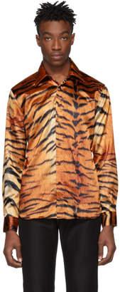SSS World Corp Brown Tiger Shirt