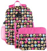 Kids 6-pc. Emoji Backpack & Accessories Set