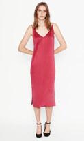 Equipment Anika Slip Silk Dress