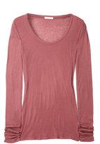 Garnet Massachussetts Long Sleeve Round Neck T-shirt