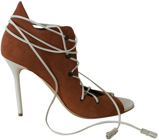 Malone Souliers Brown Suede Sandals