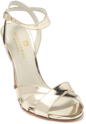 Bruno Magli Ginerva Leather Stiletto Heel Sandal