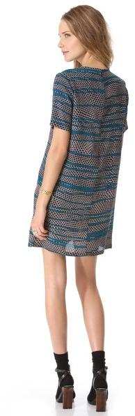 Thakoon Silk T-Shirt Dress