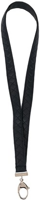 Chanel Pre Owned Quilted Lanyard