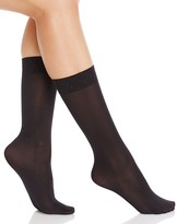 Kate Spade Rhinestone Cuff Crew Socks