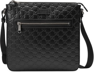 Gucci Signature leather messenger