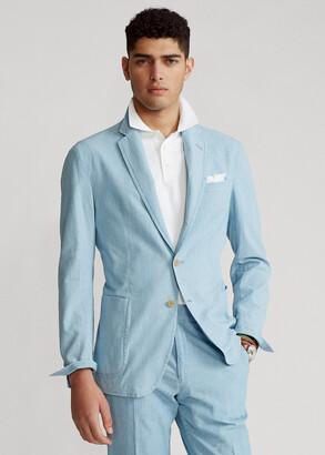 Ralph Lauren Cotton Chambray Suit Jacket